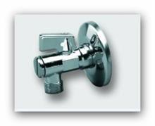 """Rohový ventil kulový bez matky 1/2""""x3/8"""" s filtrem"""