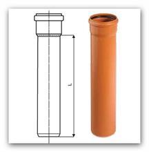 Kanalizační trubka KGEM SN4 110x3,2x0,5M
