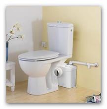 SANIBROY Silence Koupelnové kalové čerpadlo na WC