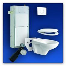 Závěsný modul WC Sanit 980C+originál Sanit set 980C