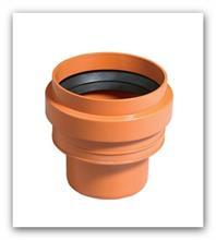 Kanalizační přechodka kamenina/PVC KGUS 110