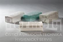 Papírové ručníky ZZ skládané 5000 ks - zelené