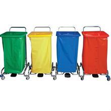 Úklidový vozík PEDALBAG IV. - 4x120l