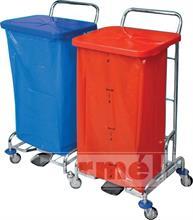 Úklidový vozík PEDALBAG II. - 2x120l