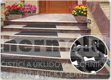 Protiskluzová rohož na schody ARABESKA (sada na jeden schod) - lepící