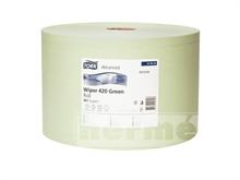 Průmyslová papírová utěrka TORK SERVOIL GREEN - 1500 útržků