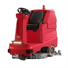Podlahový mycí stroj se sedící obsluhou RCM GIGA 802 - bateriový