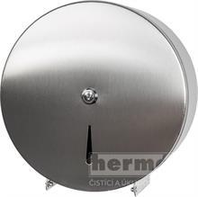 Nerezový zásobník SOFT na toaletní papír 180 - 240 JUMBO