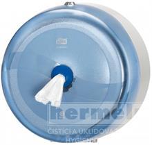 Zásobník toaletního papíru s podavačem jednotlivých útržků SMARTONE modrý
