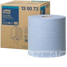 Průmyslová papírová utěrka Tork Advanced 430 modrá role
