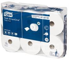 Toaletní papír SmartONE, 2 vrstvý, bílý, karton (6rolí)