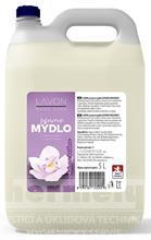Pěnové mýdlo na dolévání - LAVON krémové mýdlo na ruce kašmír a orchidea 5l