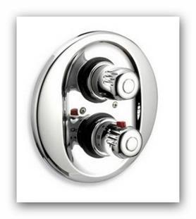 Podomítková termostatická sprchová baterie Aquamat 2650.0