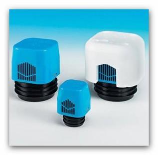 Přivzdušňovací ventil Nicoll VENTILAIR DN70/80/100 (25L/s) 760399 do -20st.C
