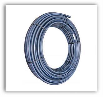 Vodovodní polyetylenová tlaková trubka PE-MD 63x8,6 PN12,5