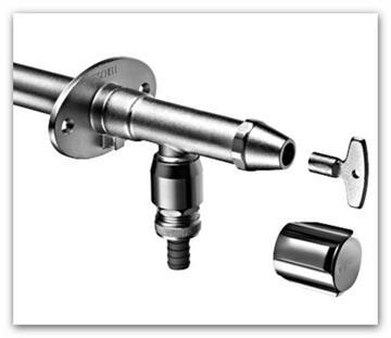 Nezámrzný ventil SCHELL Polar II SET typ 039970399 pro novostavby