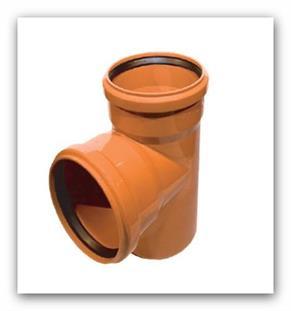 Kanalizační odbočka 87° KGEA 160/125