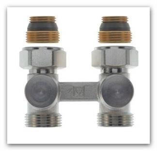 Uzavíratelné šroubení H kus Herz 3000 pro radiátory VK přímé 1376602
