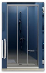 Sprchové dveře do niky RAVAK ASDP3-80 rám bílý/sklo Pearl