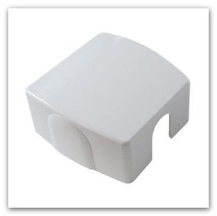 Kryt pro jednobodovou armaturu HERZ VUA-50 bílý 1011021