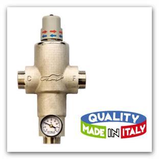 """Směšovací termostat RIVER Ecosan 1/2"""" bez cirkulačního okruhu"""