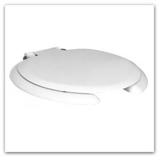 WC sedátko duroplastové KOLO Nova PRO bez barier 60114 pro tělesně postižené