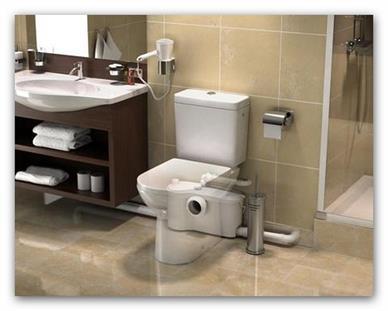 Kalové čerpadlo na WC Sanibest Pro EXPERT komerční využití