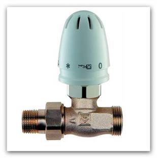 RTL ventil Herz MINI s termostatickou hlavicí přímý 1920123