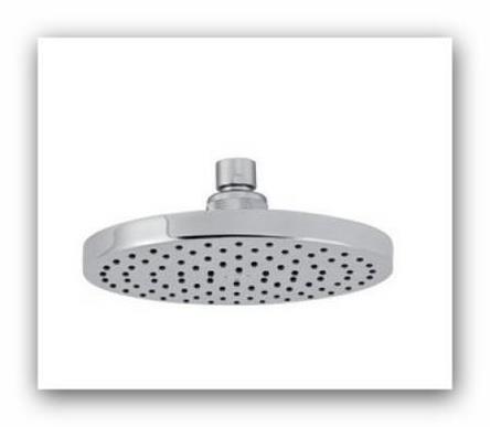 Pevná sprcha RUP/210.0