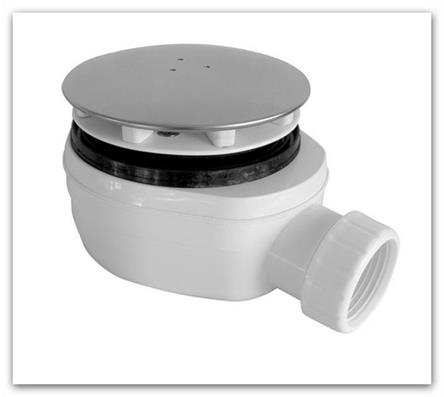 Sifon sprchové vaničky nízký 90 EWNN940 INOX