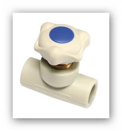 PPR ventil přímý plastový Ekoplastik