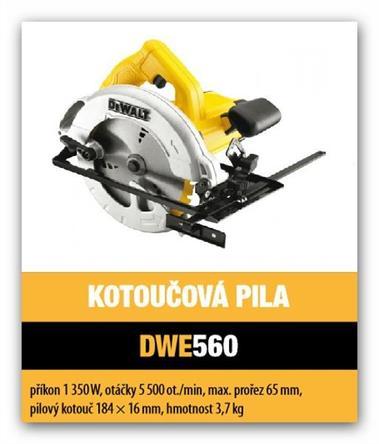 Kotoučová pila DeWalt DWE560