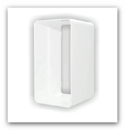 Plastová ventilační spojka plochého potrubí D/LP 110x55