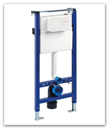 Závěsný modul WC pro suchou instalaci sádrokarton LIV-FIX 628386