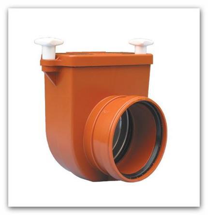 Kanalizační koncová žabí zpětná klapka DN 110 HL710.0