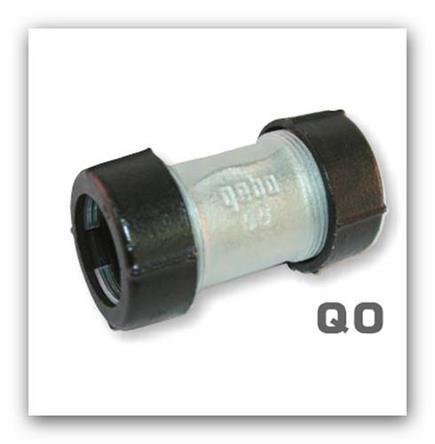 """Svěrná spojka GEBO QO 6/4"""" oboustranná pro ocelové a plastové potrubí"""