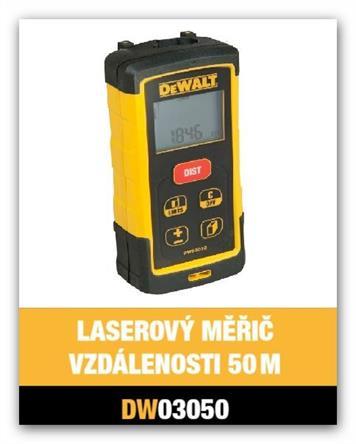 Laserový měříč vzádelostí dálkoměr Dewalt DW03050 akce 2016!!