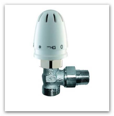 RTL ventil Herz MINI s termostatickou hlavicí rohový 1920124
