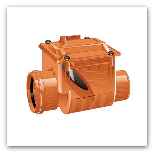 Kanalizační zpětná klapka CLASSICA DN 125