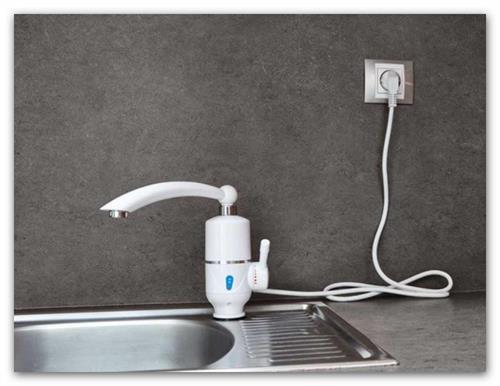 TERMO QUICK; stojánková baterie selektrickým ohřevem vody, příkon 3,2 kW, HOME LIFE SDR-3D-3