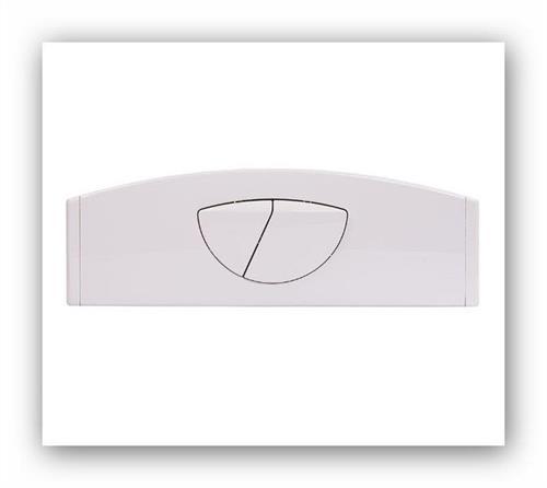 FRIATEC ovládací tlačítko F200 bílé 332001 ovládání shora