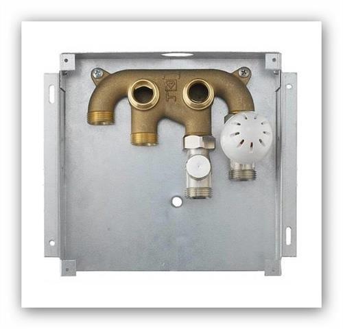 Herz Box pro napojení topného tělesa a vytápění 1810026 bílý