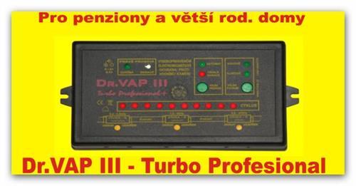 Odstraňovač vodního kamene Dr.VAP III. Turbo Professional