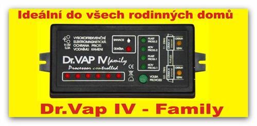 Odstraňovač vodního kamene Dr.VAP IV - family