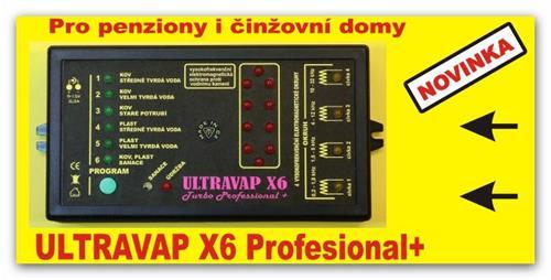 Nejvýkonnější elektronický odstraňovač vodního kamene ULTRAVAP X6 Professional+