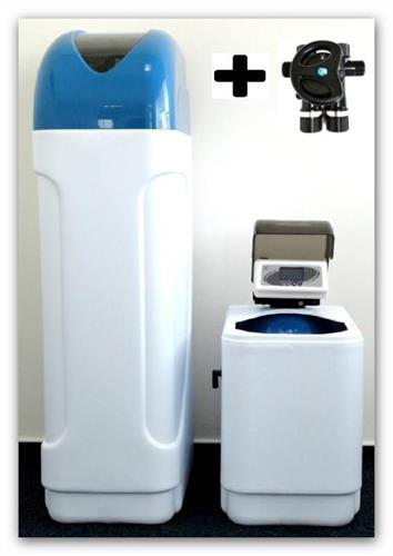 Automatický změkčovač vody kabinetní AZK2+montážní blok MBPŠ 1