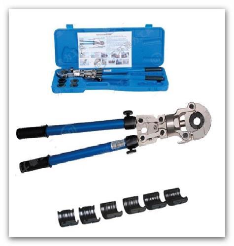 Set ruční lisovací kleště SET LC-LK360-TH pro potrubí a press tvarovky PEX-AL-PEX včetně kufru