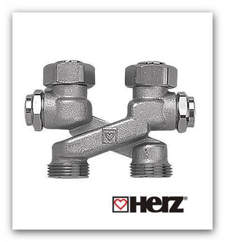 Křížení Herz 3000 pro VK radiátory s vypouštěním