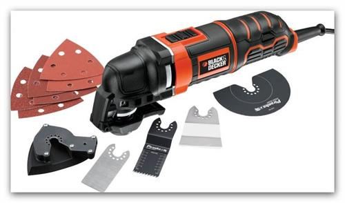 Oscilační víceúčelová bruska Black & Decker MT300KA