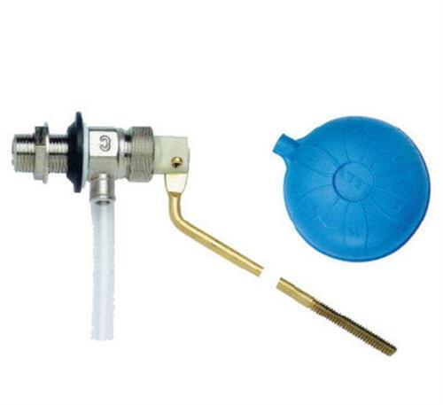 """Mosazný napouštěcí plovákový ventil 1/2"""" boční"""